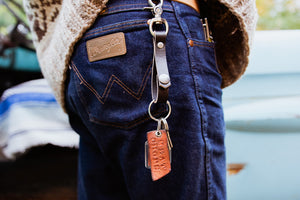 Meat Chops Leather Key Fobs