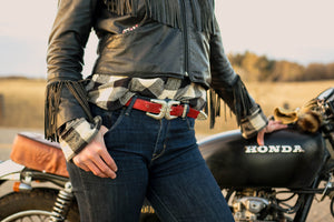 Meat Chops Women's Double-Buckle Babe Belt 1
