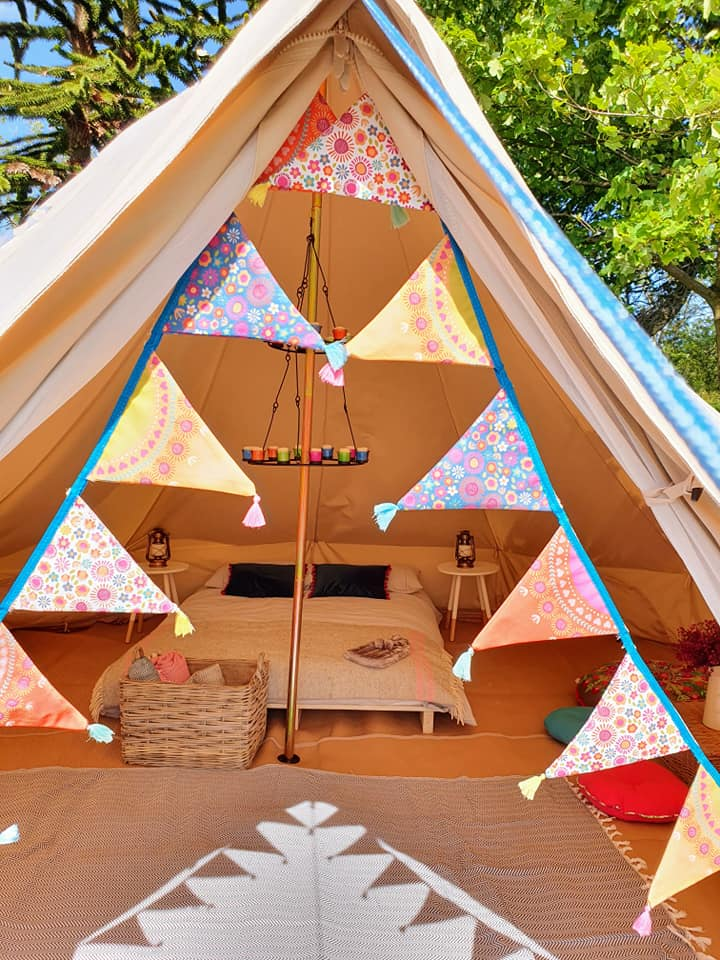 Glamping At Home Weekend - 17th of July (ONE OF THE DELUXE PACKAGE REMAINING, BARE CANVAS OPTION AVAILABLE)