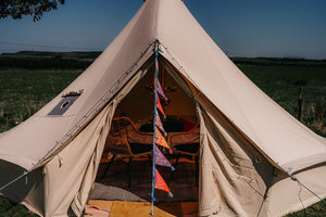 5 Metre Bell Tent (Up to 5 people) - Aine and Duncan's Wedding in Garvagh