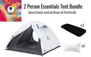 Two Person Tent Bundle (Purchase for Stendhal Festival)