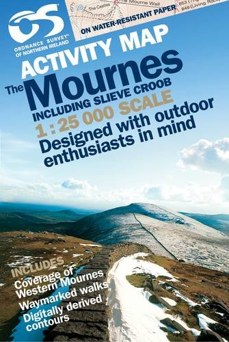 Front cover of the Mourne Mountains Activity Guide