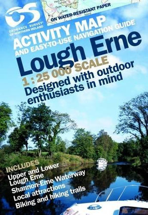 Front cover of the Lough Erne Activity Guide
