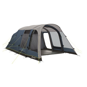 Front view of 5 person large air tent