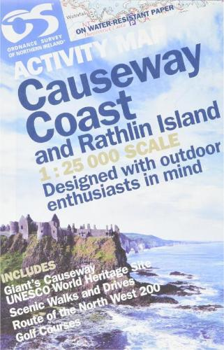 Front cover of the Causeway Coast Activity Guide