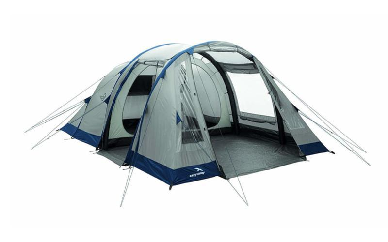 Front view of tent