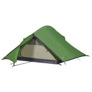 Front view of 2 person hiking tent for rental