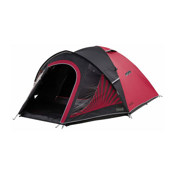 Front view of 3 person tent for rental