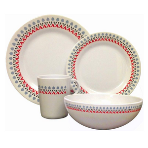 Decorative Melamine Dinner Set