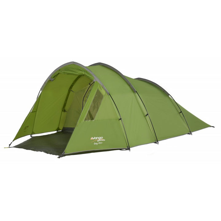 Front view of 4 person tent