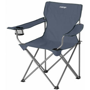 Front view of camping chair