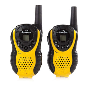 Twin pack of walkie talkies