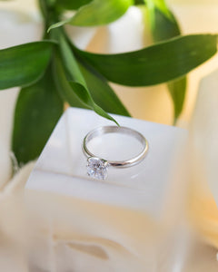 iprecious-creations - 1.80 Carat Engagement Ring -  Classic Style Wedding Ring - Round Cut Solitaire Ring - Gemstone Promise Ring - Bridal Ring - Jewelry