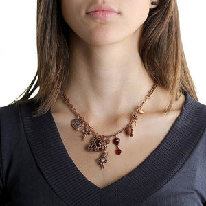iprecious-creations - 60% Off Spring Summer Branded Necklace in Stainless Steel and Copper Gold Vermeil - Jewelry