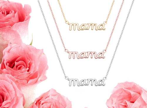 iprecious-creations - Mothers Necklace, Mother's Day Necklace, Mama Necklace, Mothers Day Gift, Mother Gift, Mother Jewelry - Jewelry