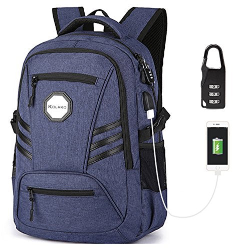 6fff09f3789c Anti Theft Business Laptop Backpack