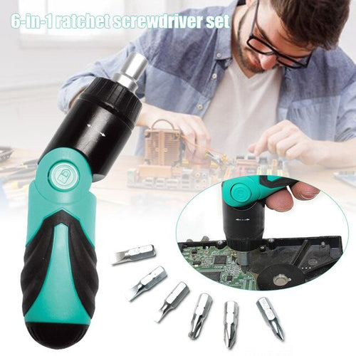 6 In 1 Multi-Function Screwdriver