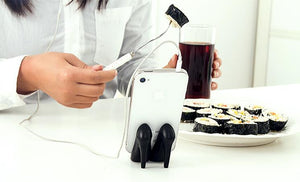 Silicone High Heels Phone Holder