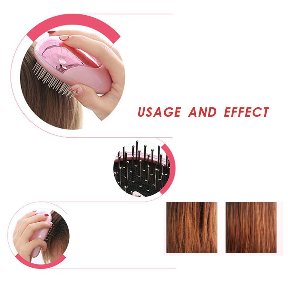 Portable Ion Hair Comb
