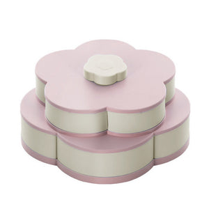Flower Snack Box Food Organizer