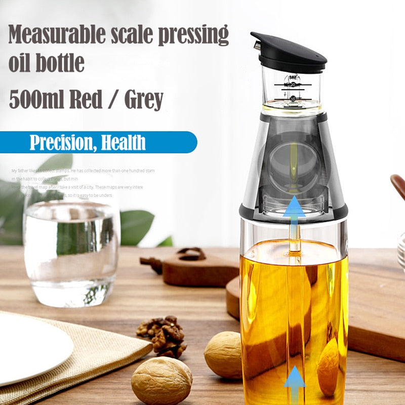 Measurable Oil Bottle