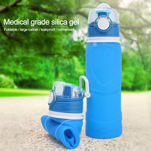 Collapsible Silicone Bottles