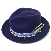 Load image into Gallery viewer, Camden Fedora XX Blue