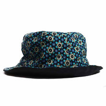Load image into Gallery viewer, Blue Geo Bucket Hat