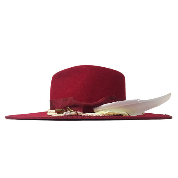 Camden Fedora MM Red