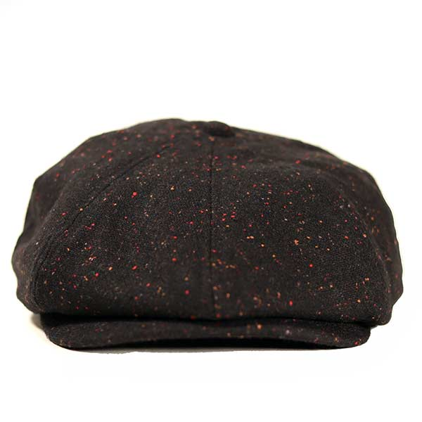 Newsboy - Fleck Wool Mix Black