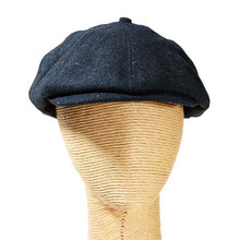 Load image into Gallery viewer, Newsboy - Fleck Wool Mix Blue