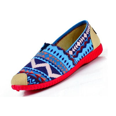 Womens Flats Casual Boat Shoes Breathable – LOVINGHEARTCREATIONS 029919cdd450