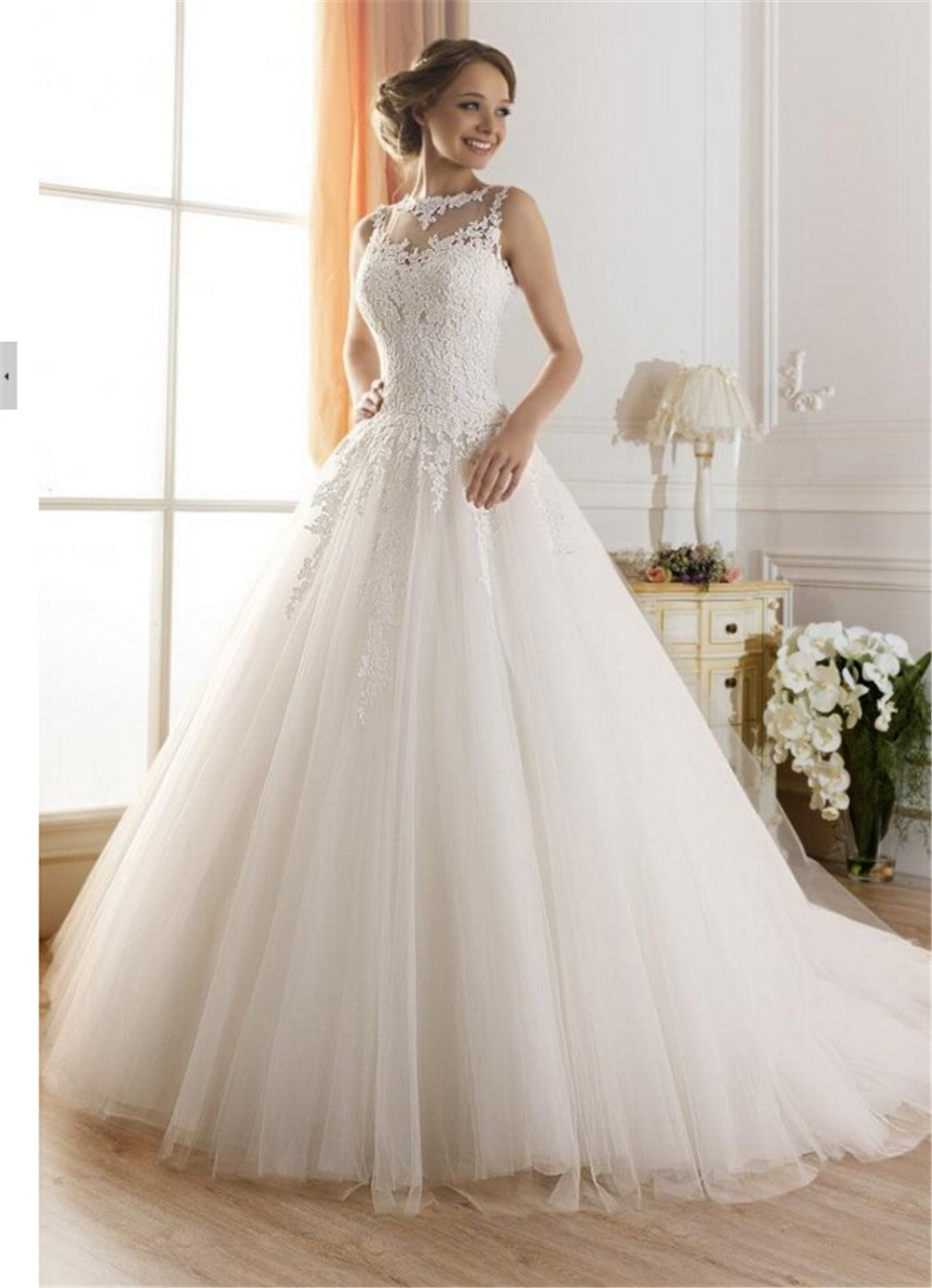 c33b688cb27 Angelina Tulle Ballgown Wedding Dress - Mondainé Bridal Studio ...