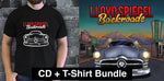 'Backroads' CD + T-shirt Bundle