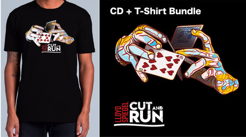 'Cut and Run' CD + T-shirt Bundle