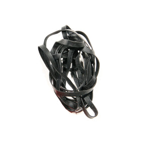 Black Fishing Rubber Bands JB Tackle 64 Pack