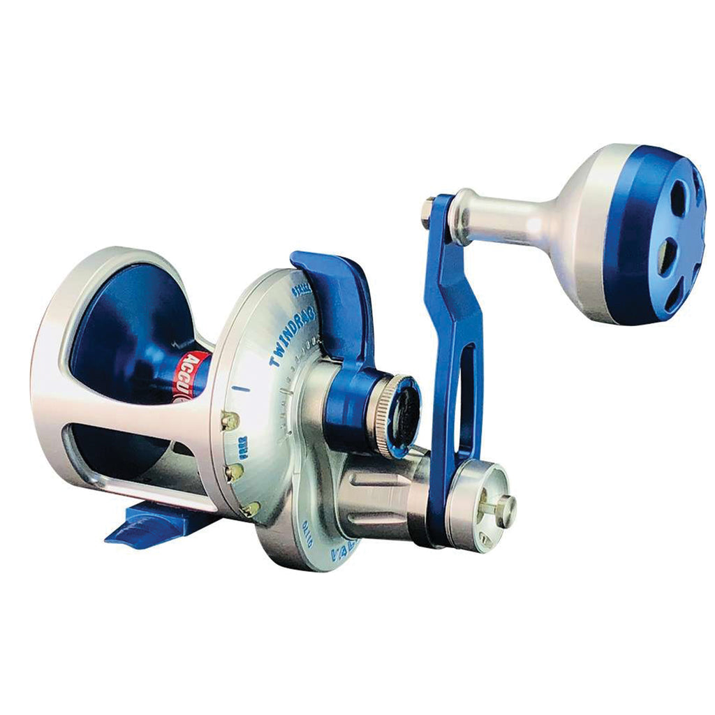 Accurate Valiant BV-400 Reel (Blue/Silver) JB Tackle