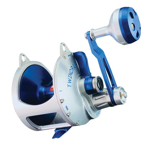 Accurate Valiant BV2-600 Reel (Blue/Silver) JB Tackle