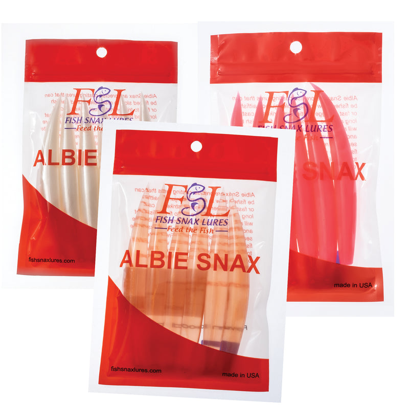 Albie Snax 6-Pack Lures JB Tackle