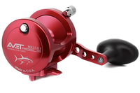 Avet MXL 5.8 : 1 Lever Drag Casting Reel (Red) JB Tackle