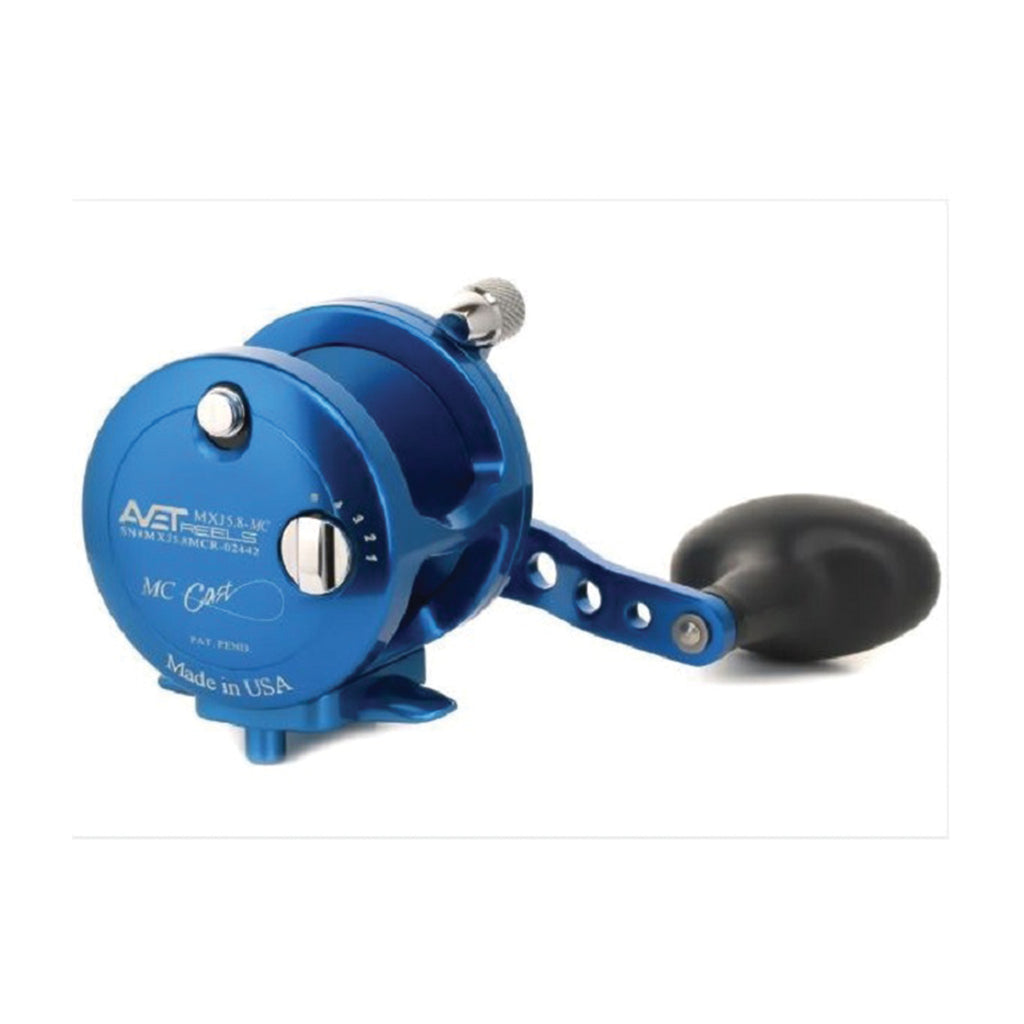 Avet MXJ5.8 MC Lever Drag Casting Reel (Blue) JB Tackle