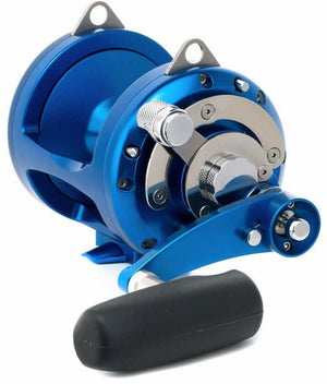 Avet Pro EXW 2-Speed Big Game Lever Drag Reel (Blue) JB Tackle