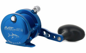 Avet SXJ 5.3 : 1 Lever Drag Casting Reel (Blue) JB Tackle