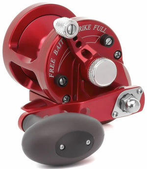 Avet SX 5.3 : 1 Lever Drag Casting Reel (Red) JB Tackle