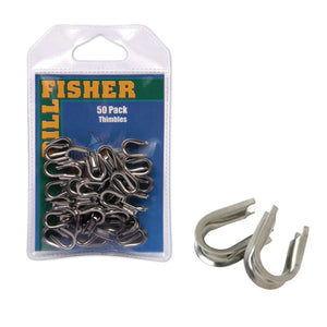 Billfisher Stainless Thimbles JB Tackle