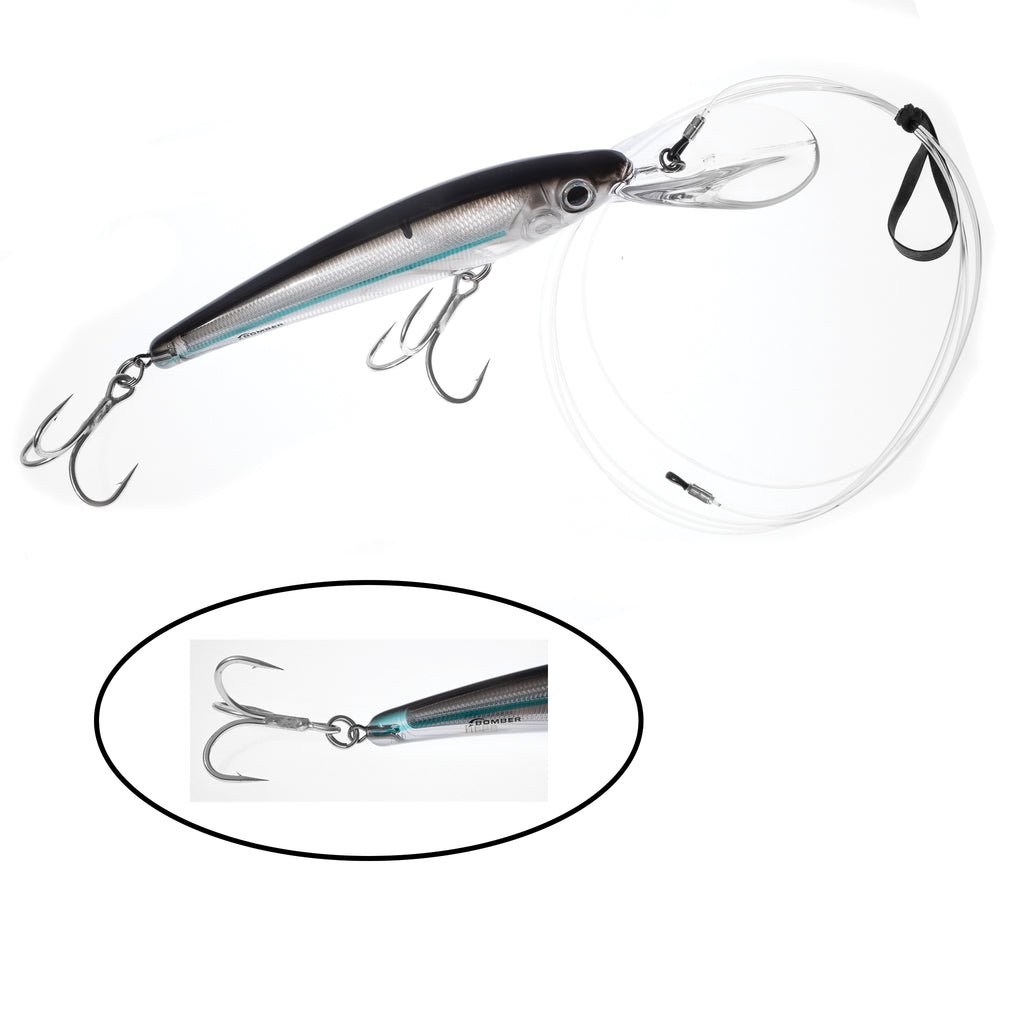 J&B Custom Tuna Rigged Bomber CD30 Plugs