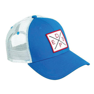 Deep Blue X Trucker Hat JB Tackle