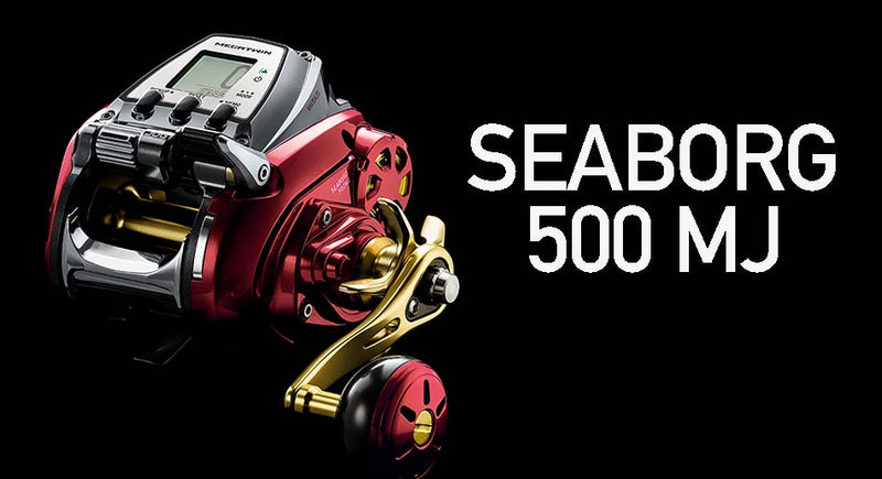 Daiwa Seaborg Megatwin Power Assist Electric Reels