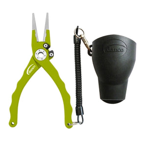 Danco Admiral Aluminum Fishing Pliers (Lime) JB Tackle