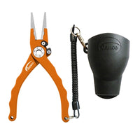 Danco Admiral Aluminum Fishing Pliers (Orange) JB Tackle